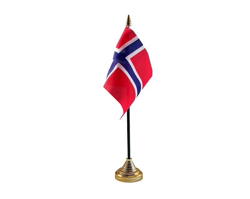 Norway Hand Table or Waving Flag Country