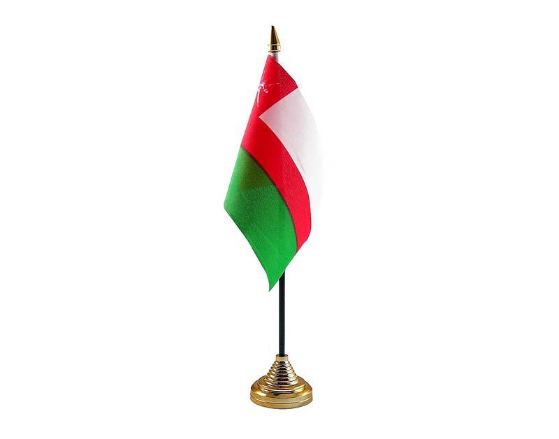 Oman Hand Table or Waving Flag Country