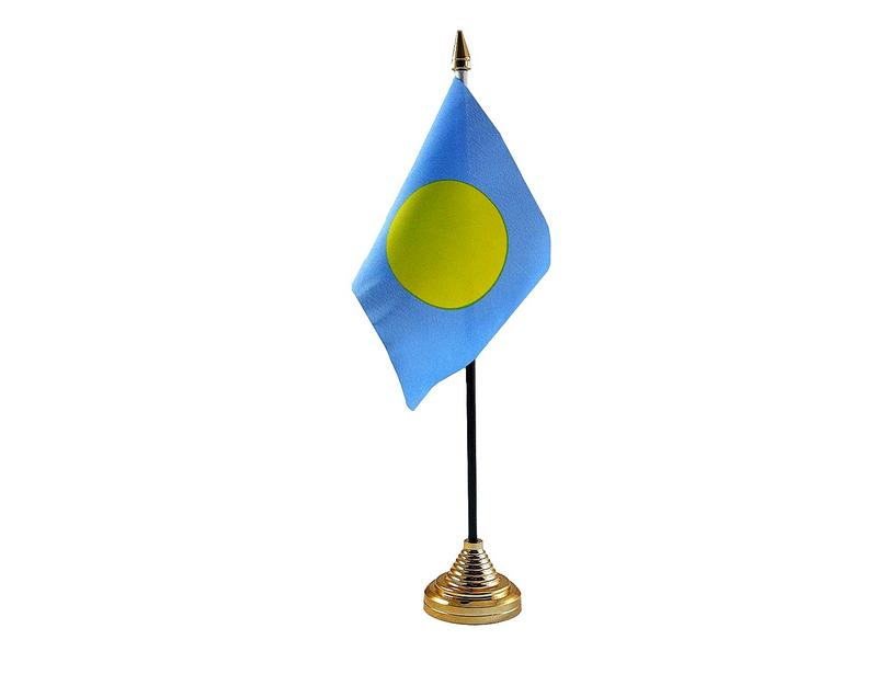 Palau Hand Table or Waving Flag Country