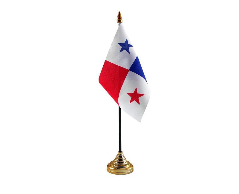 Panama Hand Table or Waving Flag Country