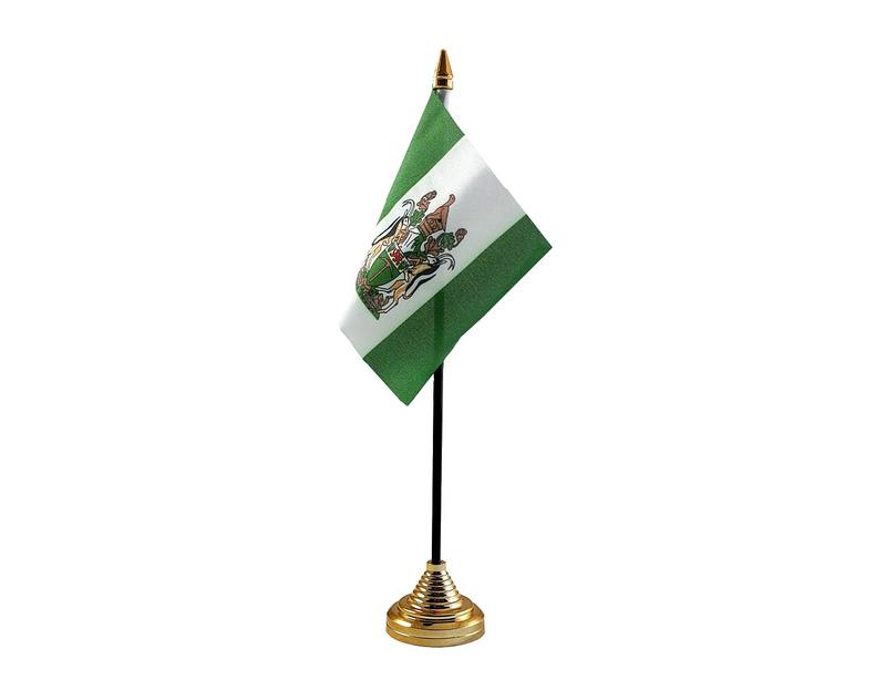Rhodesia Hand Table or Waving Flag Country