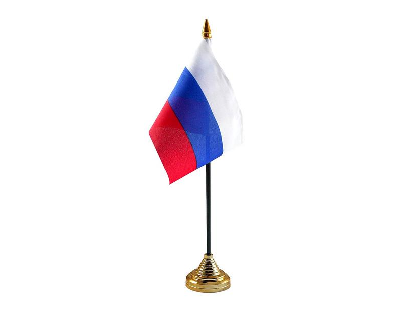 Russia Federation Hand Table or Waving Flag Country