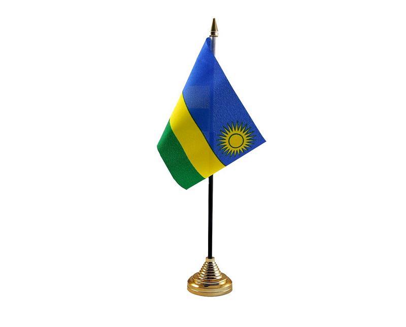 Rwanda Hand Table or Waving Flag Country