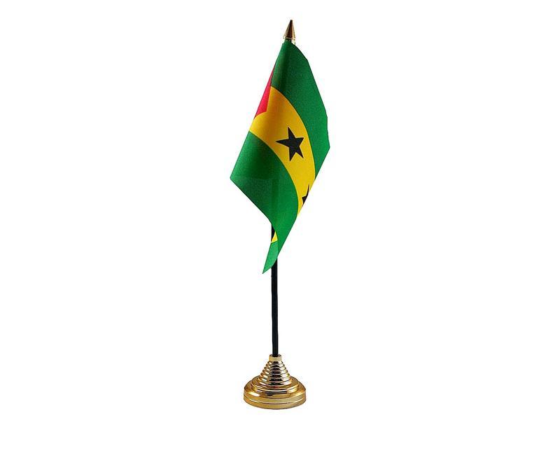 Sao Tome & Principe Hand Table or Waving Flag Country