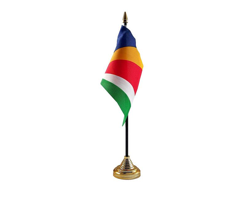 Seychelles Hand Table or Waving Flag Country