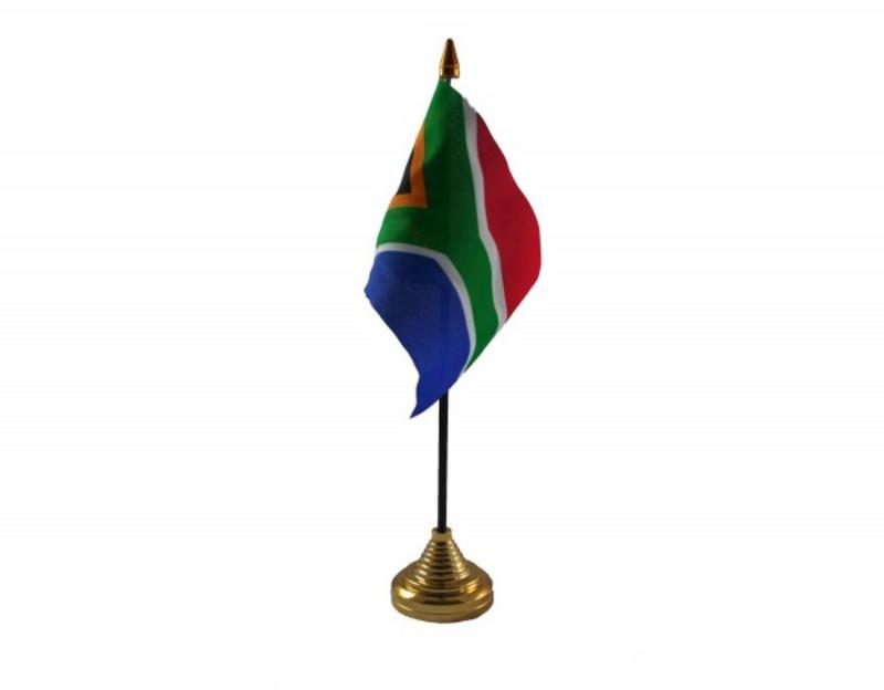 South Africa Hand Table or Waving Flag - New Style