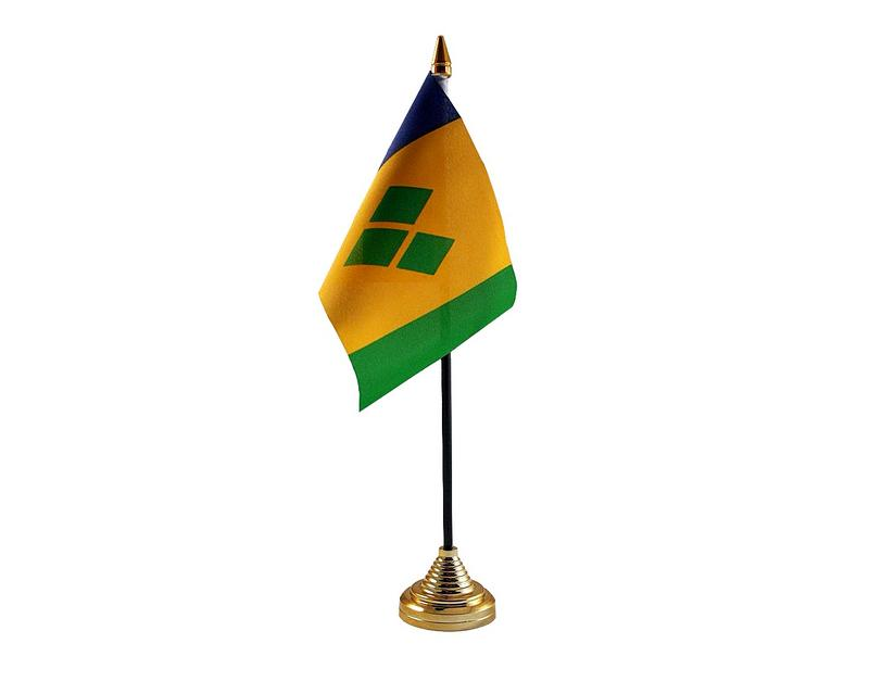 St Vincent Hand Table or Waving Flag Country