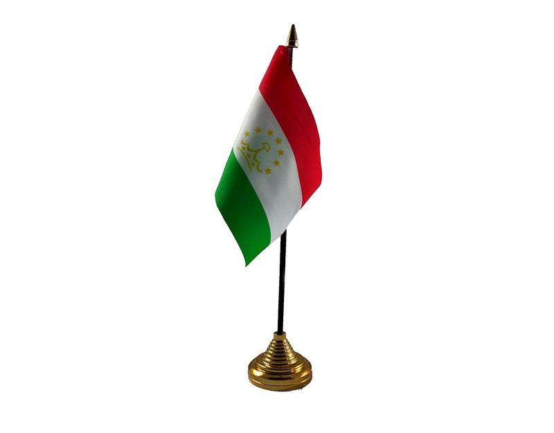Tajikistan Hand Table or Waving Flag Country