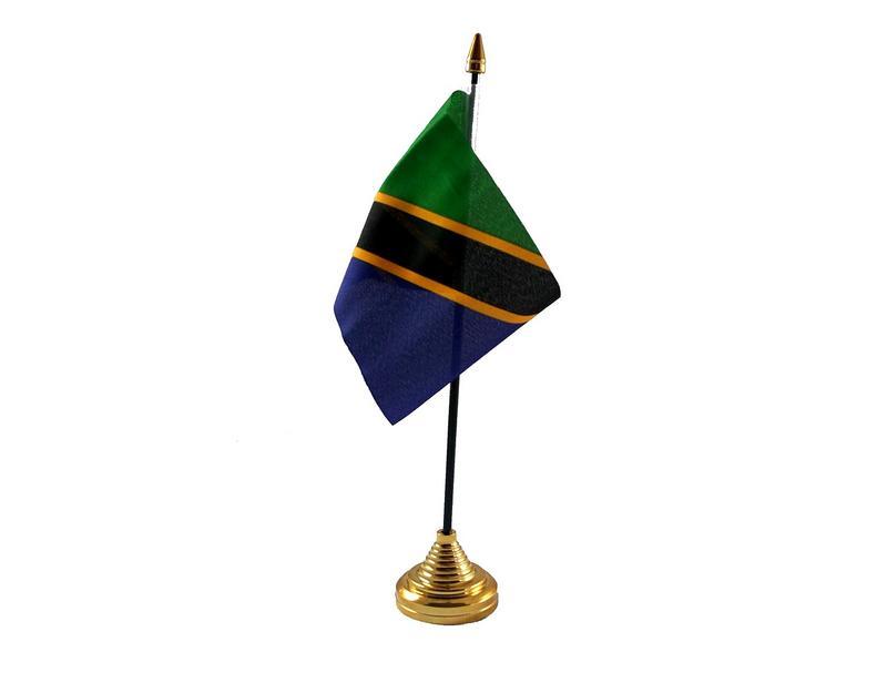 Tanzania Hand Table or Waving Flag Country
