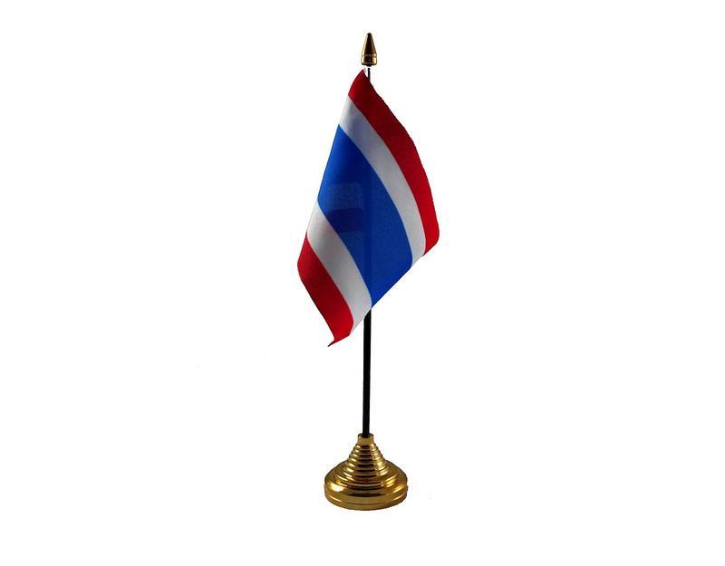 Thailand Hand Table or Waving Flag Country Thai