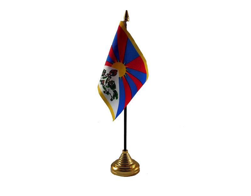 Tibet Hand Table or Waving Flag Country