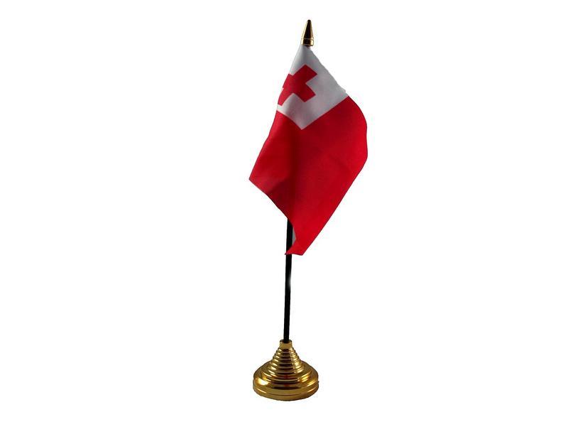 Tonga Hand Table or Waving Flag Country