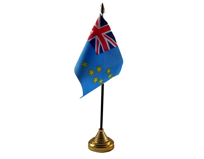 Tuvalu Hand Table or Waving Flag Country
