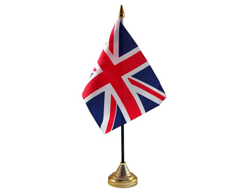 Union Jack Hand Table or Waving Flag - Great Britain - Team GB