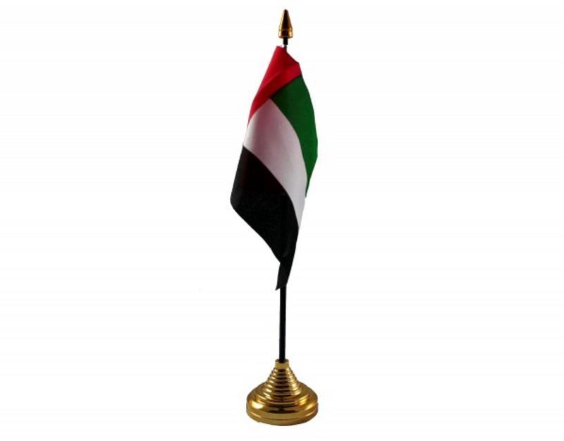 United Arab Emirates Hand Table or Waving Flag - UAE