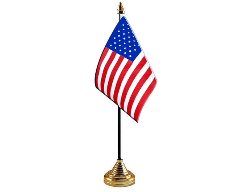 United States Of America Hand Table or Waving Flag Country USA American