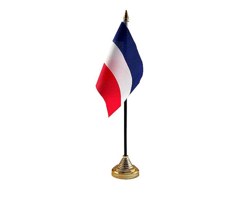 Yugoslavia Hand Table or Waving Flag