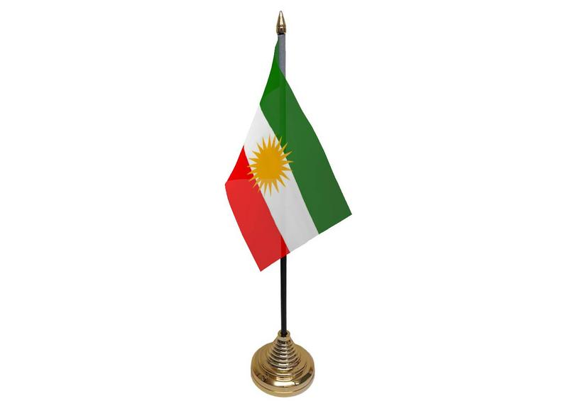 Kurdistan Hand Hand Table or Waving or Waving Flag
