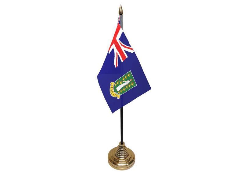 British Virgin Isles Hand Table or Waving Flag