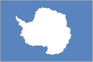 Antartica Hand Table or Waving Flag