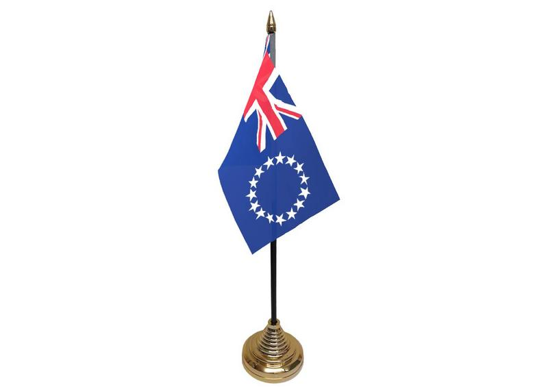 Cook Islands Hand Table or Waving Flag