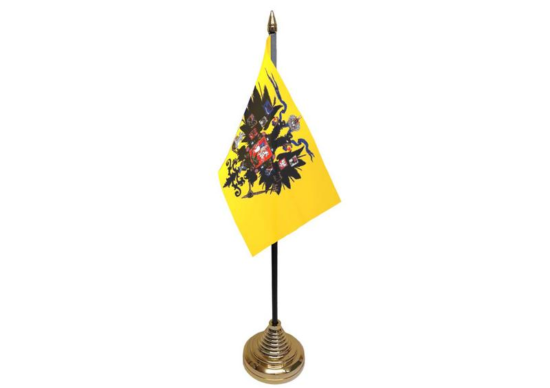 Russia Imperial Hand Table or Waving Flag
