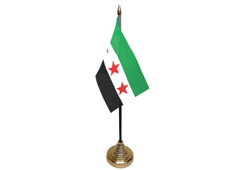 Syria Rebel Hand Table or Waving Flag