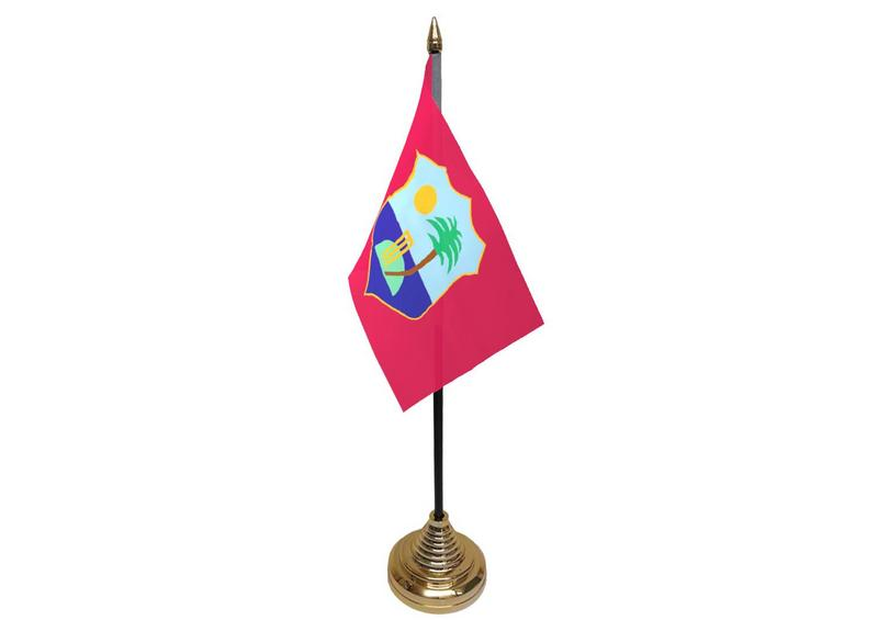 West Indies Hand Table or Waving Flag