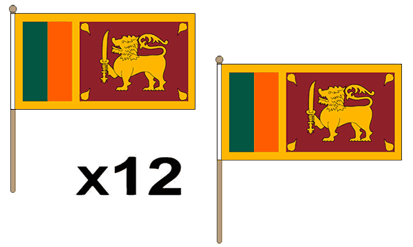 5x3 Feet 3x2 SRI LANKAN NATIONAL FLAGS Hand SRI LANKA FLAG