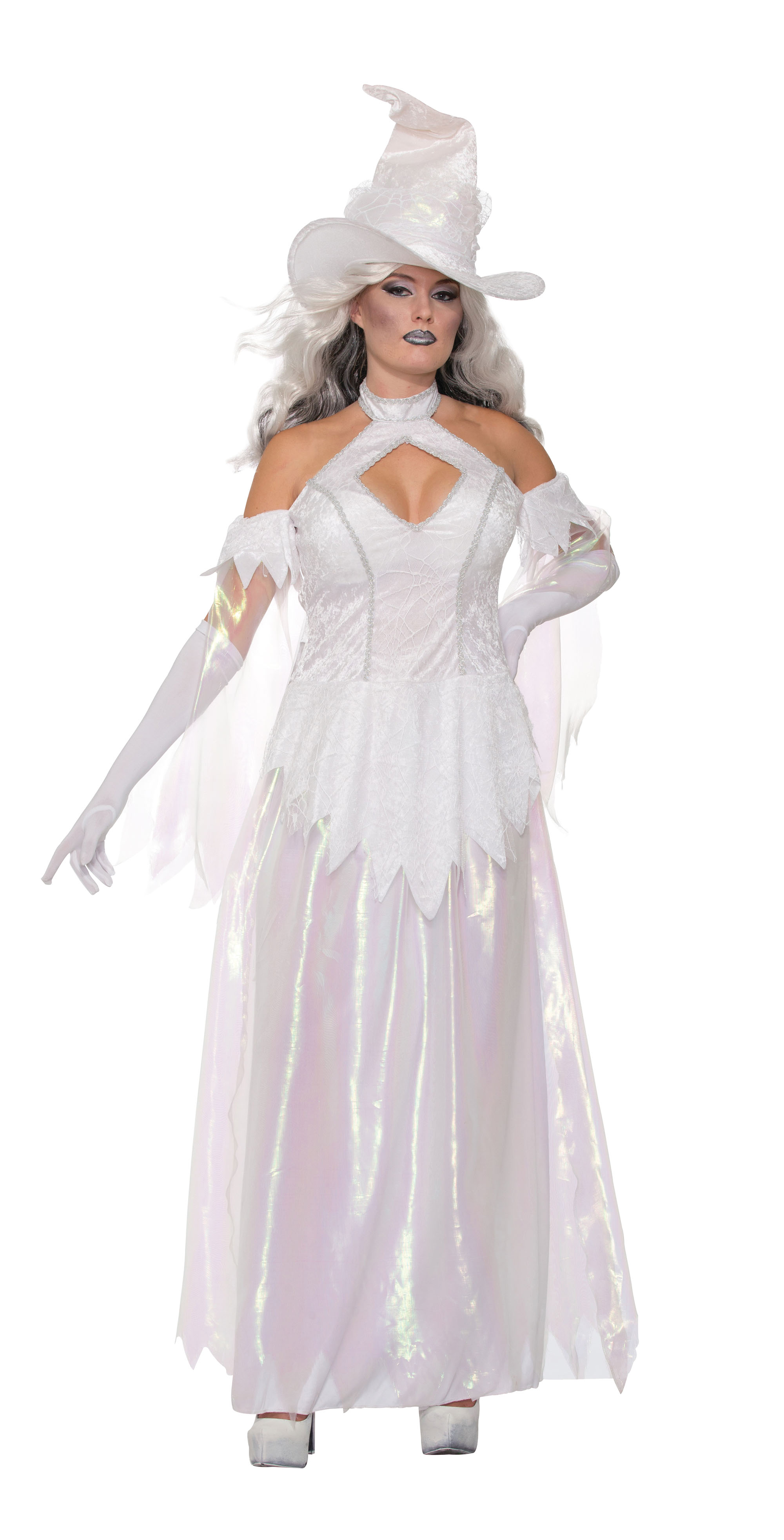 Crystal Magick Costume Halloween Fancy Dress Costume Outfit Womens UK 10-14