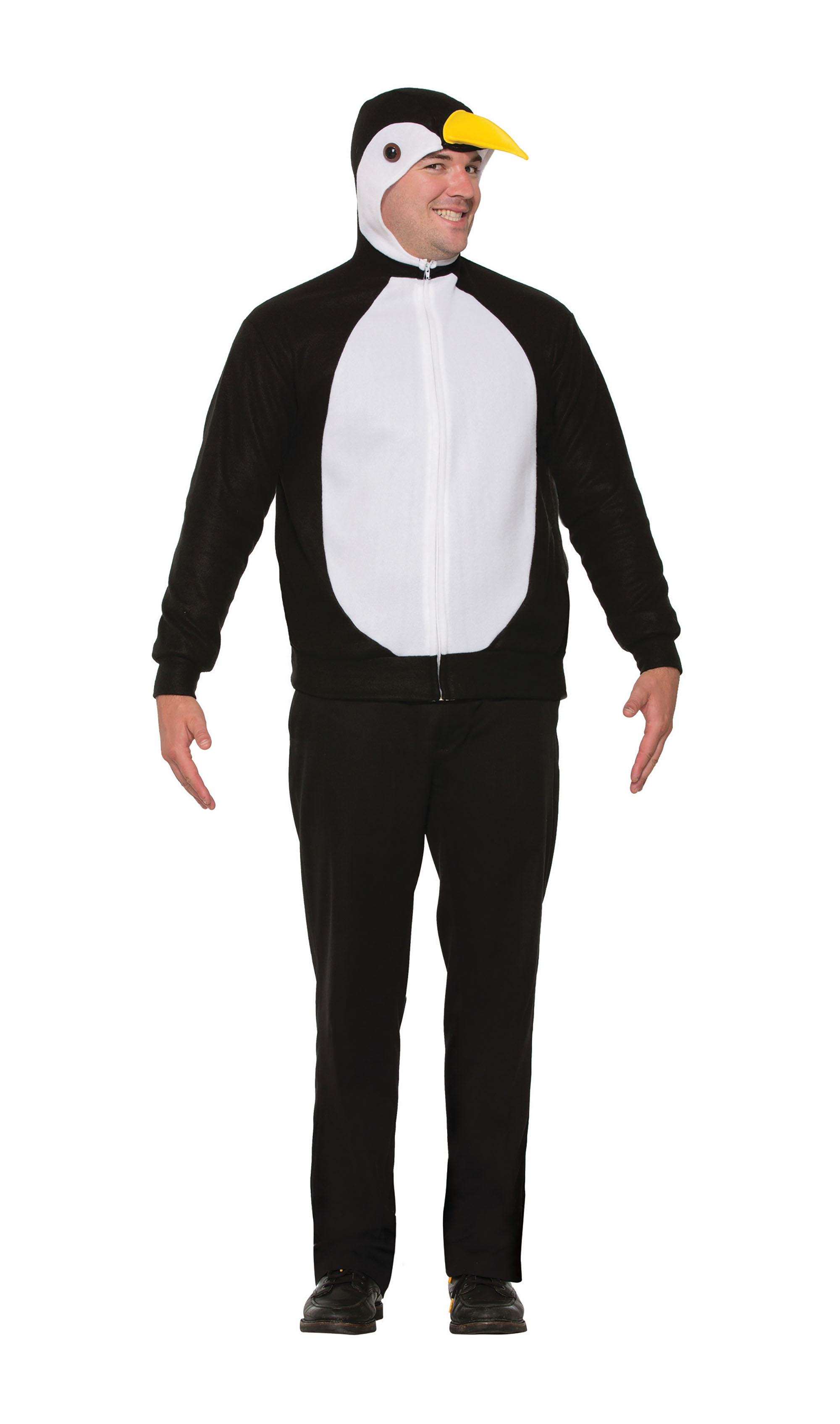 Penguin Jumpsuit Unisex Christmas Fancy Dress Costume Outfit Adult One Size