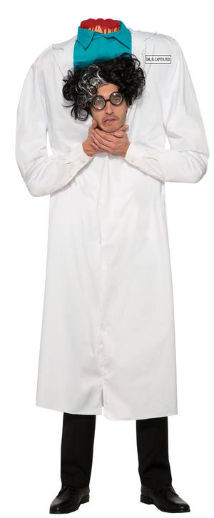 Doctor Surgeon Costume Halloween Fancy Dress Costume Male Mens Adult One Size