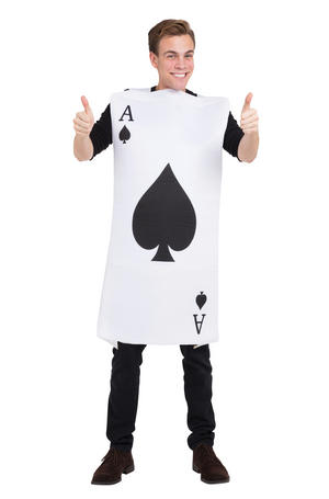 Ace Of Spades Fancy Dress Costume Outfit Male Mens Adult One Size