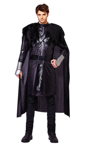 Cavalier Black Deluxe Fancy Dress Costume Outfit Male Mens Adult One Size