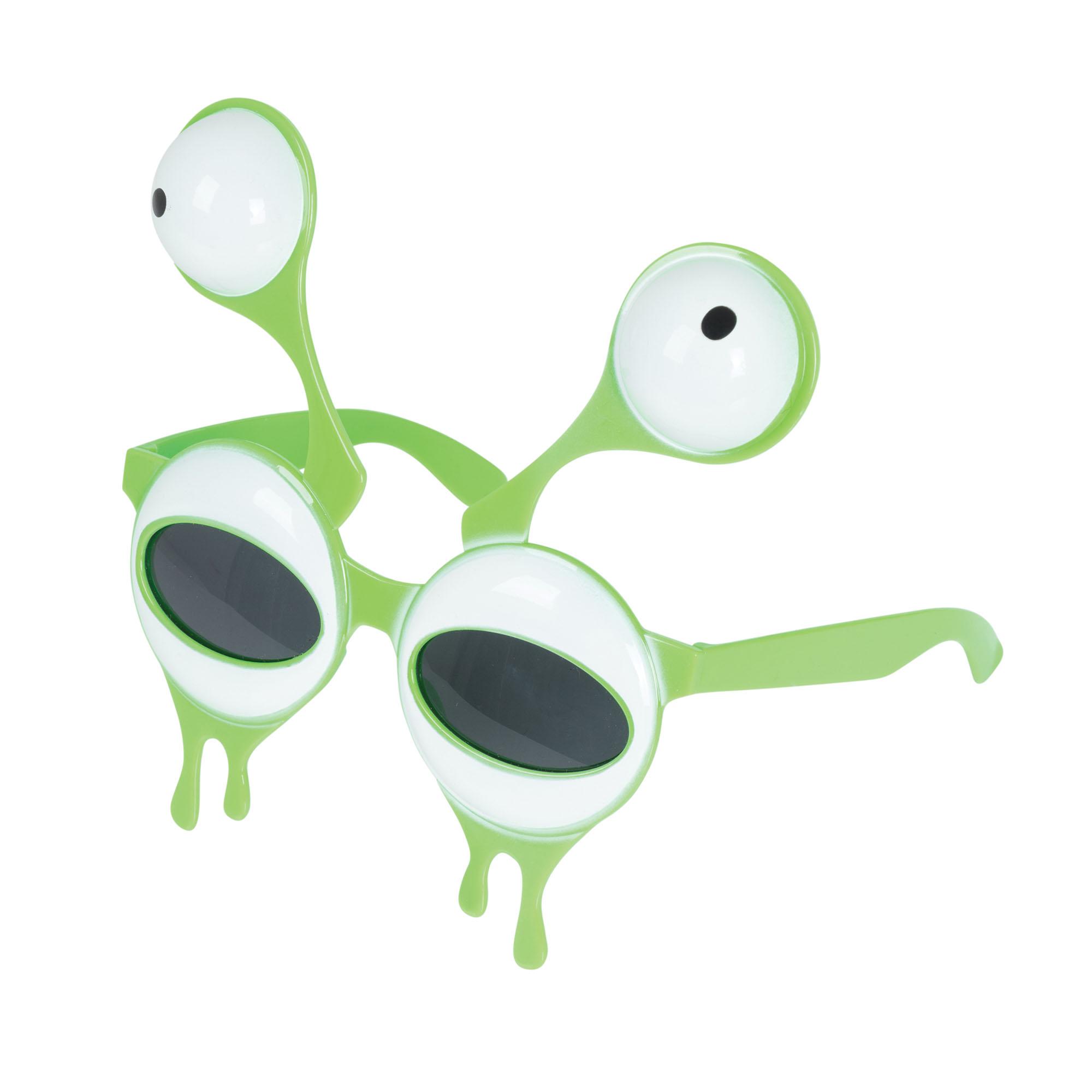 Alien Style Glasses Halloween Sunglasses Fancy Dress Costume Prop