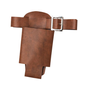 Brown Bottle Holster Fancy Dress Costume Accessory Prop