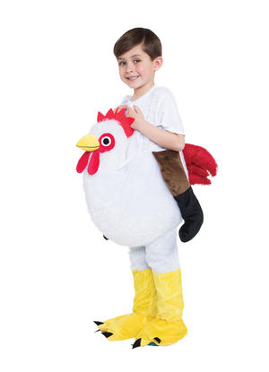 Chicken Step In Childs Kids Fancy Dress Costume Outfit Easter