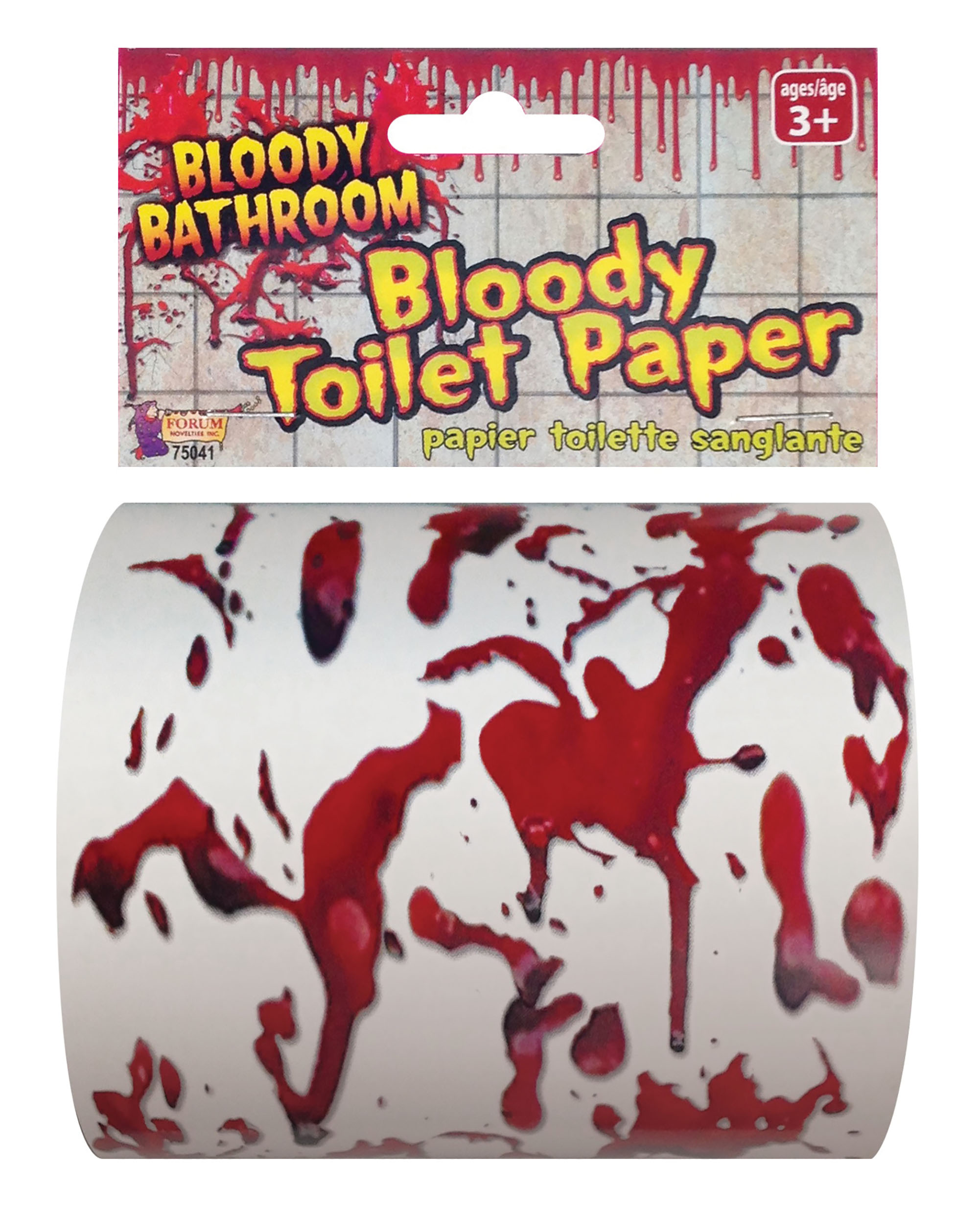 Toilet Paper Bloody Fancy Dress Accessory