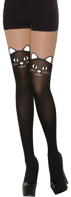 Cat Tights Halloween Fancy Dress Accessory