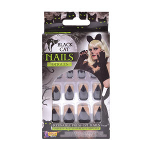 Black Cat Nails Halloween Fancy Dress Accessory