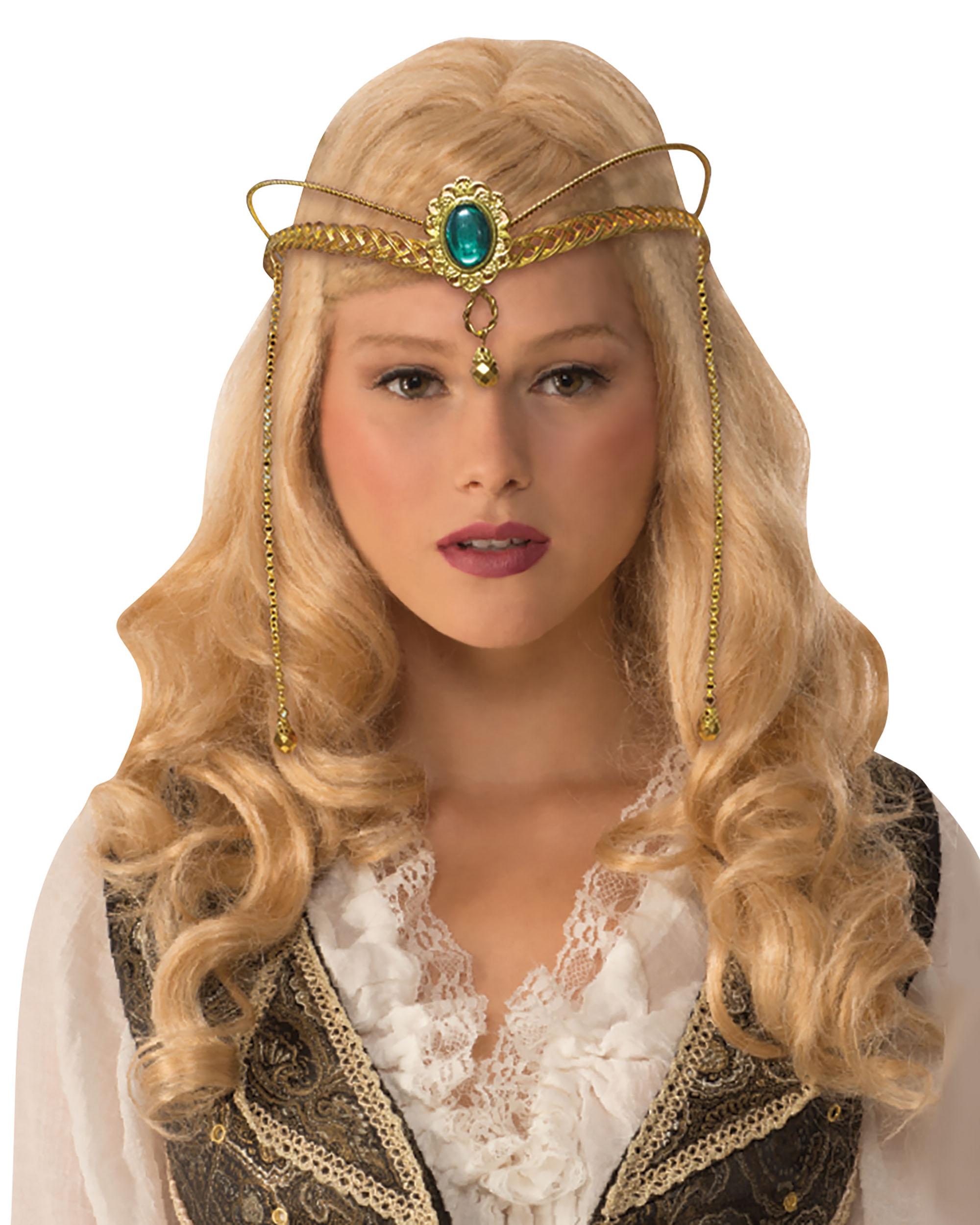 Medieval Crown Metal Fancy Dress Accessory