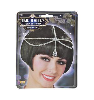 Roaring 20s Charleston Flapper Hair Headpiece Jewellery Fancy Dress Accessory