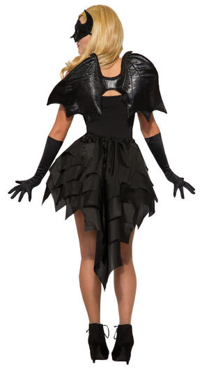 Bat Wings Halloween Fancy Dress Accessory