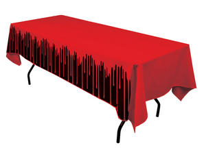Bloody Table Cover 137x274cm Halloween Party Tableware