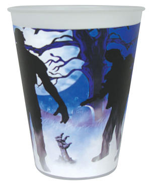 Zombie Cup 9oz (8pc) Halloween Party Tableware