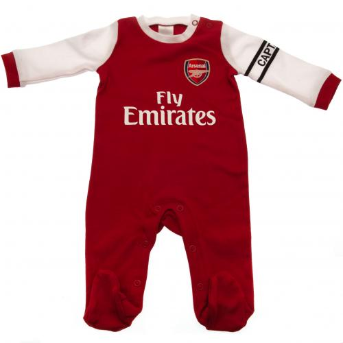 Premier League Baby Boys Arsenal FC Sleepsuit