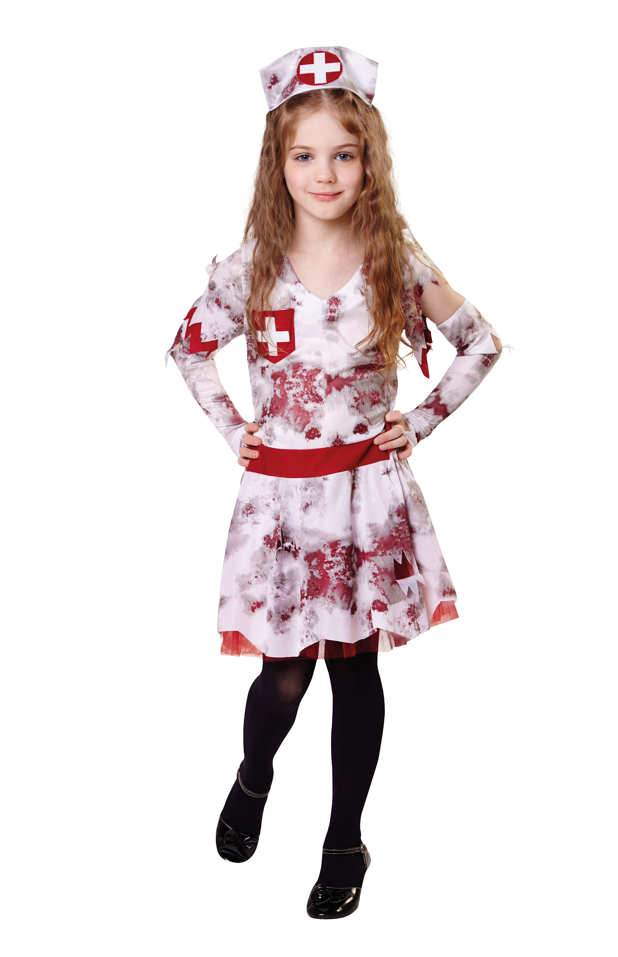 Halloween Costumes For Kids Girls 9.Details About Zombie Nurse Kids Girls Halloween Fancy Dress Costume Childs Outfit 9 10 Yrs