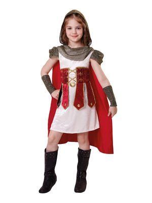 Roman Princess Kids Fancy Dress Costume Child Girls Outfit Book Week