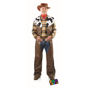 Cowboy Mens Male Fancy Dress Costume Outfit Stag Do