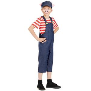 Boys Girls Little Pig Fancy Dress Costume Book Week Outfit Kids Childs 4-12 Yrs